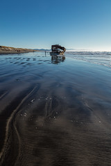2016-01-10 - Peter Iredale Shipwreck-22 (www.bazpics.com) Tags: ocean sea usa beach water oregon america skeleton sand ship pacific or wave peter shipwreck frame hull wreck iredale