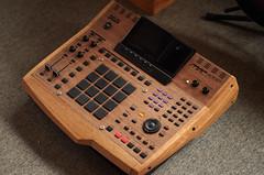 IMGP5562 (ghostinmpc) Tags: walnut akai mpc4000 woodcustom ghostinmpc