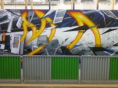 Katre : palissade de chantier (2016) (Archi & Philou) Tags: streetart poste muse chantier paris15 palissade katre