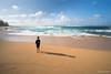 Ryan and The Ocean (Mark Griffith) Tags: ocean beach hawaii springbreak kauai haena 2016 zollinger sonya7rii 20160412dsc03989 zollingerhawaii2016
