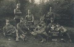 Westflisches Jger-Bataillon Nr. 7 (Der deutsche Soldat von 1860 bis 1918) Tags: x 1912 landwehr jger bckeburg preww1 jb7 landwehrbung