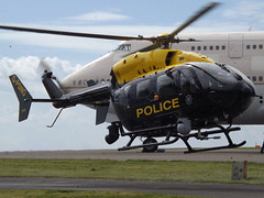 G-PSNO Eurocopter EC145 Helicopter Police Service of Northern Ireland (Aircaft @ Gloucestershire Airport By James) Tags: ireland james airport police helicopter service northern lloyds eurocopter kemble ec145 egbp gpsno