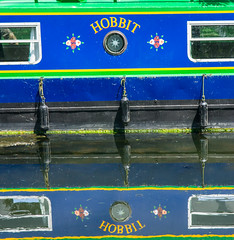 River Bank (2 of 1) (selvagedavid38) Tags: water river boat canal floating hobbit essex barge refelection chelmer