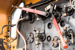 Drivers Controls (Nick_Rowland) Tags: train sussex railway steam engines preservation bluebellrailway sheffieldpark