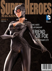 Catwoman | Statue | DC Collectibles (leadin2) Tags: girls woman statue cat kyle dc cover batman gotham catwoman collectibles selina