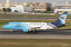 Egyptair Express ERJ-170 SU-GDI (birrlad) Tags: turkey airplane airport ataturk taxi aircraft aviation airplanes egypt istanbul international cairo airline express airways airlines panning departure ist takeoff runway airliner departing embraer taxiway egyptair erj170 e170 erj170lr sugdi msr736