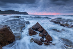 Ocean channel II (FPL_2015) Tags: ocean seascape water landscape flow rocks sydney australia nsw northernbeaches leefilter turimetta canon6d gnd09 canon1635f4lis