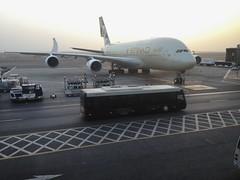 Big..bigger..biggest! (..) Tags: big airport uae emirates arab airbus a380 iphone etihad