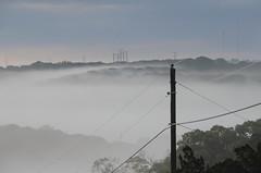 Fog filled Valleys (Bob and Diana Nelson) Tags: morning fog powerlines valleys kerrvilletexas hillcountrycameraclub