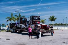 trucks on your truck (Merzdoms) Tags: truck trailer towing racetruck hauler champtruck