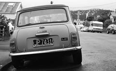 (eddieddieddie) Tags: newzealand bw car transport mini 80s agfa caffenolc 135format 35mmfilmscanningwellington