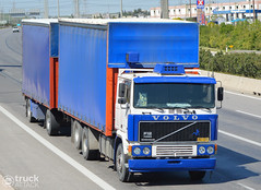 Volvo F12 (Avramidis_Alex) Tags: truck volvo curtain hellas greece lorry camion f gr f12 lkw  drawbar curtainsider