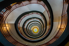 Vertigo - Explore # 4 (*Capture the Moment*) Tags: light architecture stairs licht staircase architektur treppen treppenhaus 2016 sprinkenhof sonynex7 sonye18200mmoss