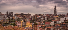 Panoramic Oporto (joao.diasfilipe) Tags: seascape portugal canon landscape torre fuji porto filter dos lee nd fujifilm fx oporto waterscape clrigos xf35mm14r