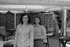 smiling girls (alxpn_bw) Tags: ukraine україна дубно dubno alxpn