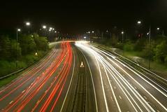 A40 (crashcalloway) Tags: longexposure night lights motorway lighttrails afterdark a40 ruislip