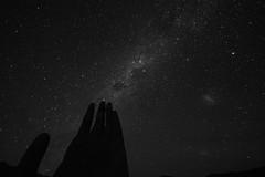 Manocromática (white'line!) Tags: chile del way galaxy mano desierto milky estrella galaxia antofagasta