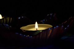 (Kaylee-Shaye) Tags: light night canon rebel candle tea flame amateur t3i