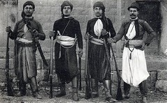 Christian militiamen of Mount Lebanon during the 1860 Mount Lebanon civil war [800x493] #HistoryPorn #history #retro http://ift.tt/243aaTV (Histolines) Tags: lebanon history during war retro christian mount civil timeline 1860 vinatage militiamen historyporn 800x493 histolines httpifttt243aatv