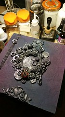 From My Stash - By Lorrie Ann (From My Stash) Tags: art scrapbook keys cards time pages creative cogs clocks steampunk lorrieann frommystash