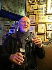 2016-032423G (bubbahop) Tags: beer scarf germany goatee head gray shaved bald cologne kln jacket papa joes gct 2016 grandcircle bubbahop biersalon europetrip33