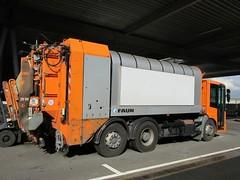 MB Econic Mllsammler (Vehicle Tim) Tags: orange truck mercedes mb mll fahrzeug lkw laster mllwagen komunal