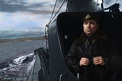 Hero of the Soviet Union, captain II rank Lunin, 1942 (klimbims) Tags: wwii submarine ww2 1942 tirpitz heroofthesovietunion  lunin khaldey   captainiirank