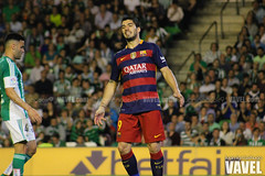 Betis - Barcelona 090 (VAVEL Espaa (www.vavel.com)) Tags: fotos bara rbb fcb betis 2016 fotogaleria vavel futbolclubbarcelona primeradivision realbetisbalompie ligabbva luissuarez betisvavel barcelonavavel fotosvavel juanignaciolechuga
