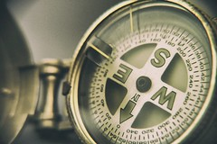 Aged Directions  #macro #compass #navigation #nsew #cardinaldirections #brass #travel  #whereami (C WALL) Tags: travel macro brass navigation compass whereami nsew cardinaldirections