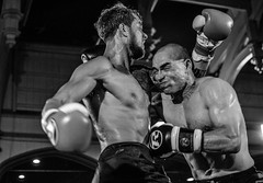 White Collar Boxing (sophie_merlo) Tags: blackandwhite bw sports monochrome sport mono action candid photojournalism documentary boxing photodocumentary