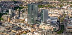 (Lothar Drewniok) Tags: skyline frankfurt frankfurtammain zeil brse eschenheimerturm skylinefrankfurt nextower lothardrewniok
