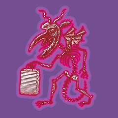 Demon Shopping Spree (Don Moyer) Tags: moleskine shop ink notebook drawing hell demon moyer brushpen devol donmoyer