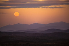 Moonlit dreams... (Marla Nutbrown) Tags: sunset moon mountains beauty clouds view scenic