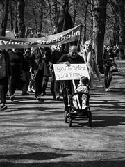Vision (@lattefarsan) Tags: blackandwhite bw children child message demonstration may1st frstamaj drom drommar fotosondag fs160501