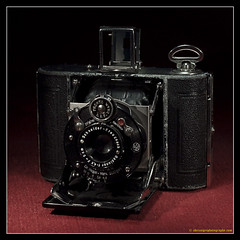 NAGEL VOLLENDA. 1 (adriangeephotography) Tags: camera classic film leather vintage lens photography antique rangefinder collection chrome adrian accessories meter gee collectable micronikkor55mmf28 fujis5pro adriangeephotography