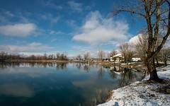 lake Zajarki (050) - winter morning (Vlado Ferenčić) Tags: lakes lakezajarki landscapes winter wintermorning zaprešić hrvatska croatia nikond600 nikkor173528 snow vladoferencic vladimirferencic