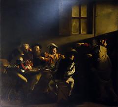 Caravaggio, Calling of St. Matthew, 1599-1600