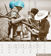 UNIFIL's 2016 Calendar - January (English) (UNIFIL - United Nations Interim Force in Lebanon) Tags: nepal lebanon calendar january un unitednations 2016 1701 unifil