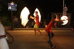 titiriteros en Opatija Croacia (javierortegaferrandez) Tags: fuego atraccion