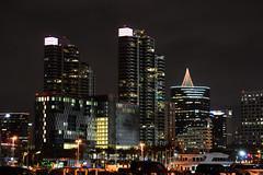 San Diego Skyline (Ian E. Abbott) Tags: california nightshot sandiego afterdark sandiegoskyline sandiegocalifornia
