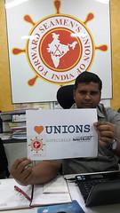 Manoj Yadav, FSUI, Forward Seamens Union of India (nautilus.international) Tags: india photo union competition mumbai forward nautilus tuc seamens seafarers fsui heartunions