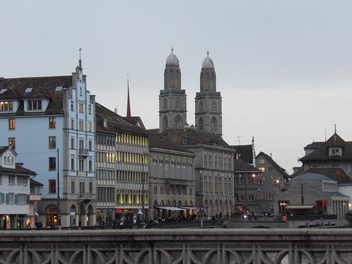Promenade dans Zürich