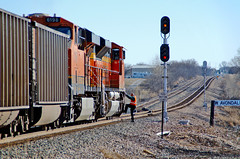 BNSF Avondale, TX (jtrainb) Tags: train texas railway signals transportation locomotive coal avondale bnsf