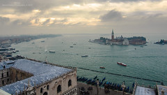 Morning sails of Venice