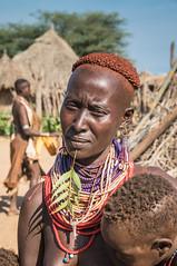 Karo Tribe, South Omo, Ethiopia (kiwi vic) Tags: portrait people faces decoration culture tribal ethiopia tribe southomo