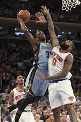 Green anota 16 y Grizzlies resisten ante Knicks (Tu Nexo De) Tags: usa ny newyork