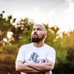 beard man (zairasandionigi) Tags: park light boy summer portrait sun man hot green nature beard amazing bokeh beatiful