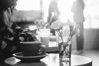 Morning Sun at Saint-Henri Café