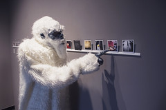 The Boston Yeti is a fan of film & photography and really enjoyed our two current exhibitions! (PRCBoston) Tags: boston polaroid photography prc bostonsnow bostonuniversity instantphotography cryptid leftofcenter photographicresourcecenter bostonphotography impossibleproject bostoncold instagram offthefridge bostonyeti instantlyyoursaoneofakindexhibitionofinstantinstagramphotography instantlyyoursprc