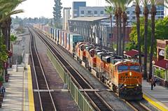 BNSFLos Angeles,January 2016 (ROPERUNNER) Tags: la losangeles amtrak metrolink fullerton pacificsurfliner generalmotors gotransit emd p42 losangelesunion californiatrains mp36ph3c cabcar f59ph es44 generalelectriclocomotives amtrak90230 bnsffreight motivepowerwarbec f40230geac4400